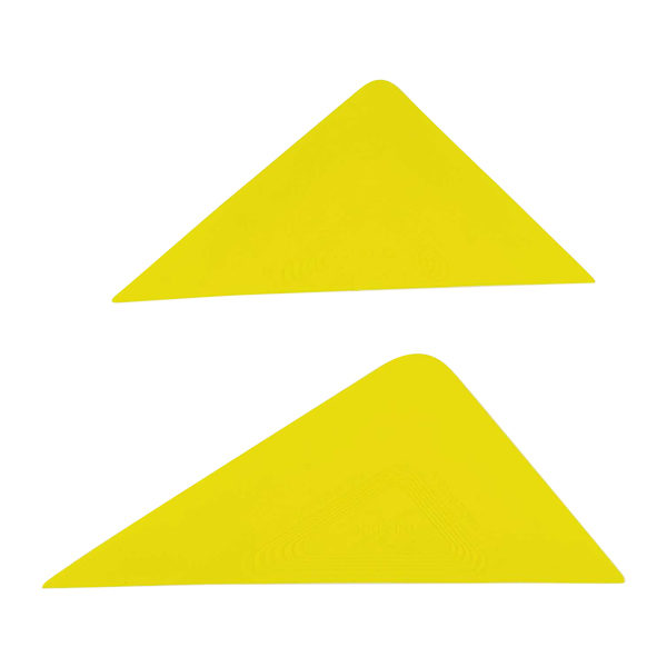 tri edge yellow large and small