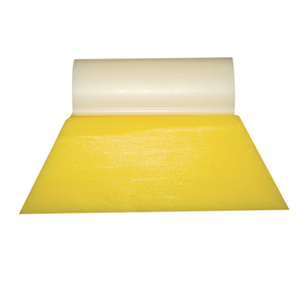 "3 1/2"" SOFT DK. YELLOW TURBO SQUEEGEE"