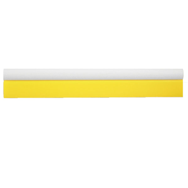 "18 1/2"" YELLOW TURBO SQUEEGEE"