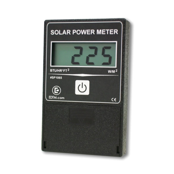 how to read a solar power meter