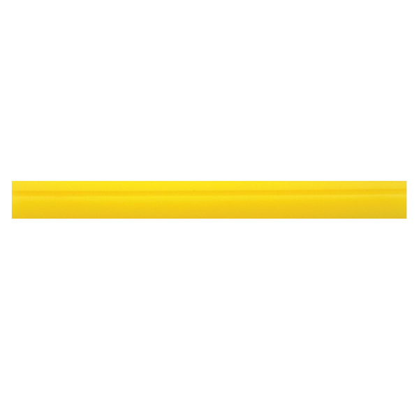"""18 1/2"""" SOFT DK. YELLOW TURBO SQUEEGEE BLADE"""