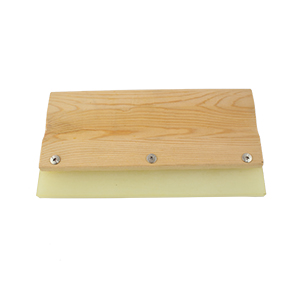 Wooden Handle Squeegee with Square Blade
