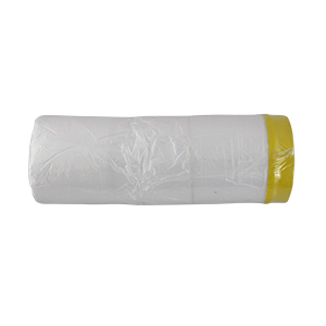 protecttion film, with PVC adhesive tape on edge