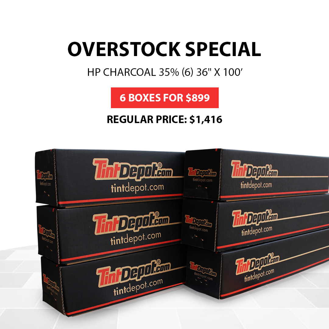 hp charcoal overstock special