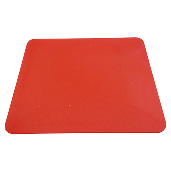 red hard card squeegee card